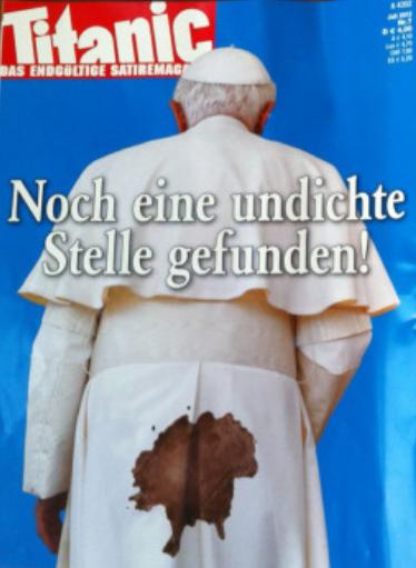 Titanic Rückseite Cover Papst