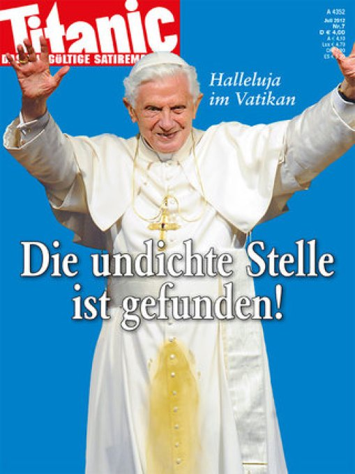 Titanic Papst cover verboten