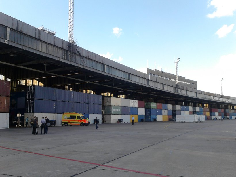 Hanger Flughafen Tempelhof