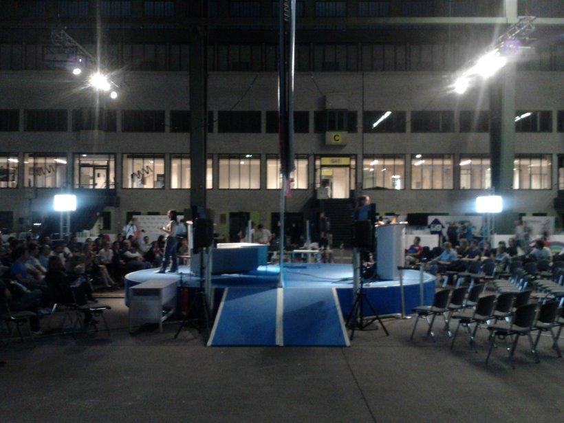 Bühnen bei der Campus Party Europe 2012