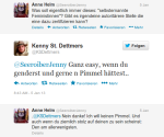 Kenny St Dettmers ju Neukölln Sexistische Kackscheisse